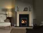 11.  Everley Travertine 450 Inset stove